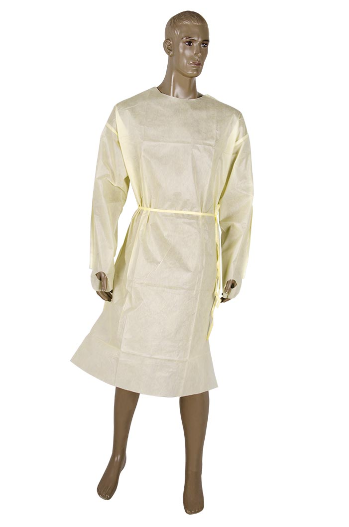AAMI PB70 Level 2 Isolation gown