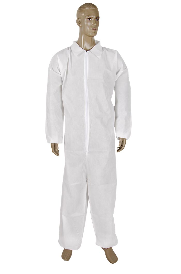 Medium weight spunbound coverall